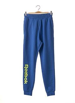 Jogging bleu REEBOK pour homme