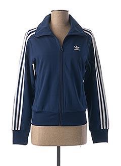 Veste casual bleu ADIDAS pour femme