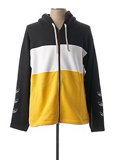 Veste casual jaune ADIDAS pour homme