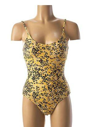 Maillot de bain 1 pièce jaune ICHI pour femme