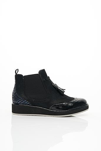 Bottines/Boots noir FUGITIVE pour femme