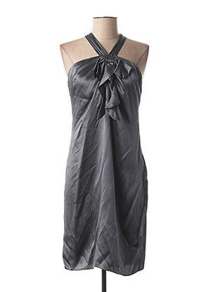 Robe mi-longue gris GALLIANO pour femme