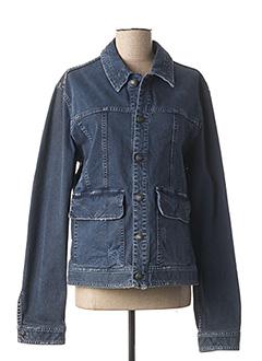Veste en jean bleu GALLIANO pour femme