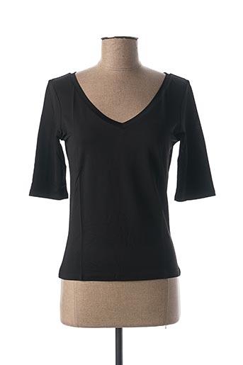 T-shirt manches longues noir MARELLA pour femme