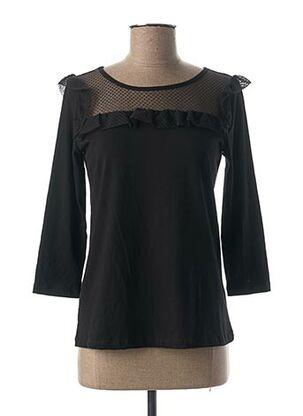 T-shirt manches longues noir ANNA RACHELE pour femme
