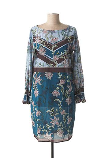 Robe courte bleu CHARLOTTE SPARRE pour femme