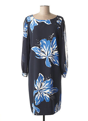 Robe mi-longue bleu MARELLA pour femme