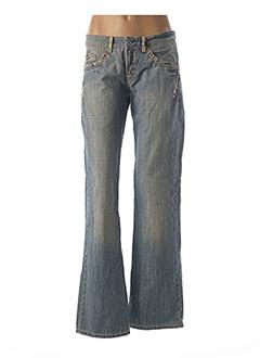 Jeans bootcut bleu MARITHE & FRANCOIS GIRBAUD pour femme