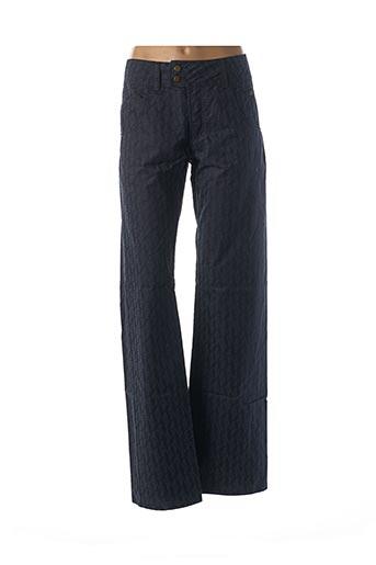 Pantalon casual bleu FERRE pour femme