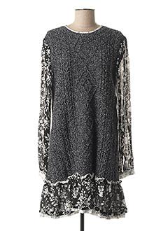 Robe pull gris TWIN-SET SIMONA BARBIERI pour femme