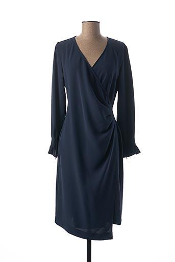 Robe mi-longue bleu I BLUES pour femme