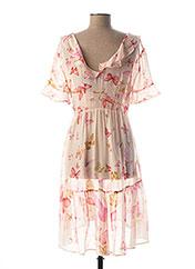 Robe mi-longue rose TWINSET pour femme seconde vue