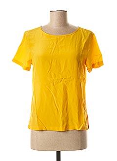 Blouse manches courtes jaune MARELLA pour femme