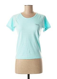 T-shirt manches courtes bleu TRUSSARDI JEANS pour femme