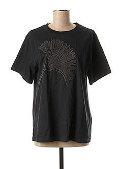 T-shirt manches courtes noir SPORTMAX pour femme
