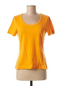 T-shirt manches courtes orange WEEKEND MAXMARA pour femme
