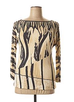T-shirt manches longues beige ICEBERG pour femme