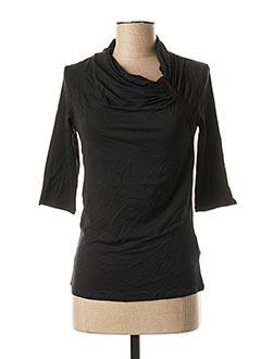 T-shirt manches longues noir MAXMARA pour femme