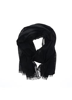 Foulard noir MAXMARA pour femme