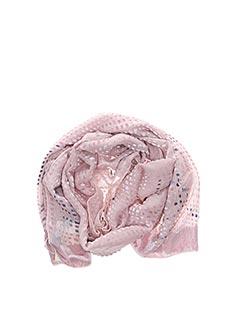 Foulard rose ARMANI pour femme
