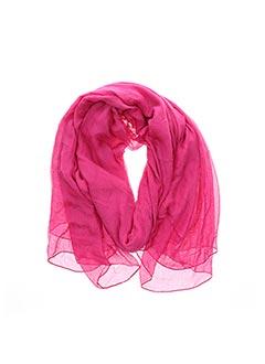 Foulard rose MAXMARA pour femme