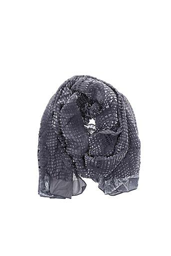 Foulard gris ARMANI pour femme