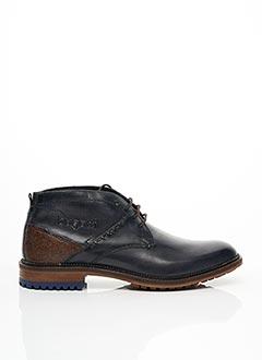 Chaussons/Pantoufles bleu BUGATTI pour homme