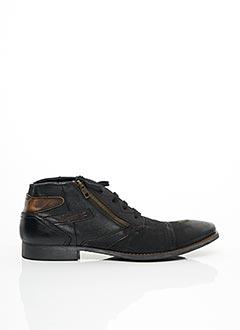 Chaussons/Pantoufles noir BUGATTI pour homme