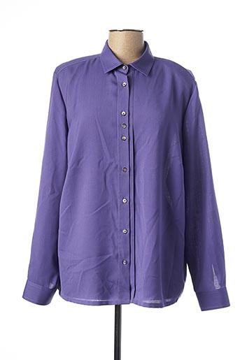 Chemisier manches longues violet SOMMERMANN pour femme