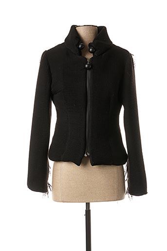 Veste casual noir LO! LES FILLES pour femme