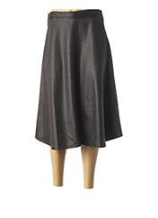 Jupe mi-longue noir LO! LES FILLES pour femme seconde vue