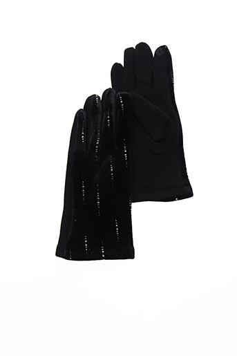 Gants noir VL COLLECTION pour femme
