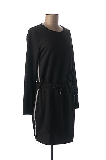 Robe mi-longue noir GARCIA pour fille