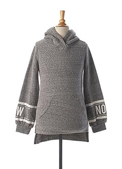 Sweat-shirt gris GARCIA pour fille