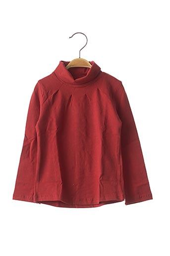 T-shirt manches longues orange MAYORAL pour fille