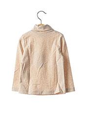 T-shirt manches longues beige MAYORAL pour fille seconde vue
