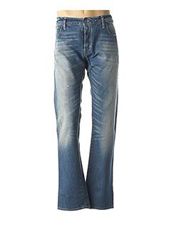 Jeans coupe droite bleu G STAR pour homme