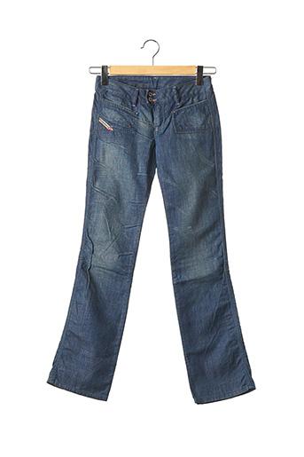 Jeans bootcut bleu DIESEL pour fille