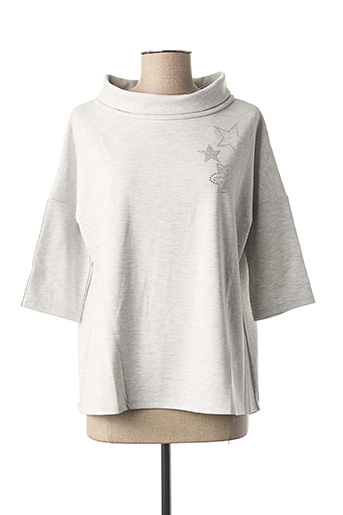 Sweat-shirt gris BETTY BARCLAY pour femme
