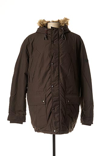Parka marron JACK & JONES pour homme