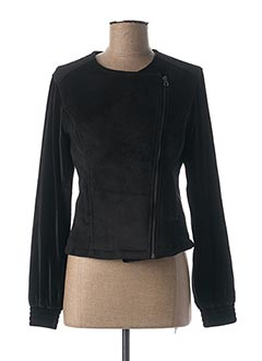 Veste casual noir LOLA ESPELETA pour femme