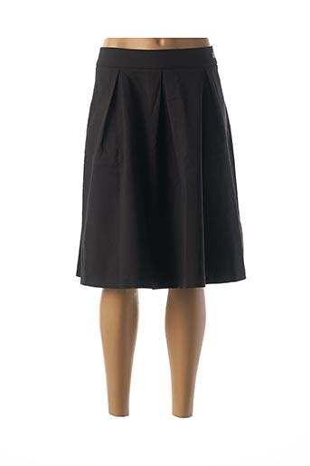 Jupe mi-longue noir LOLA ESPELETA pour femme