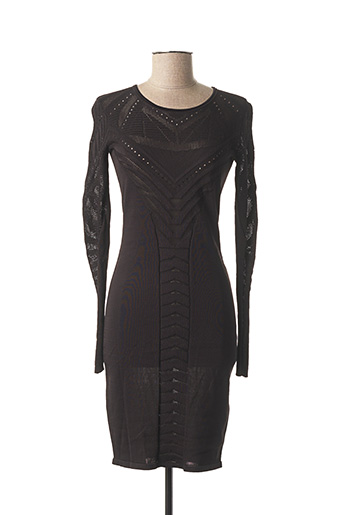 Robe pull noir ST STUDIO pour femme