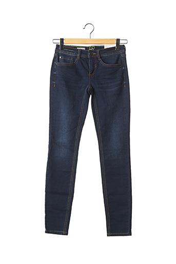 Jeans coupe slim bleu STREET ONE pour femme