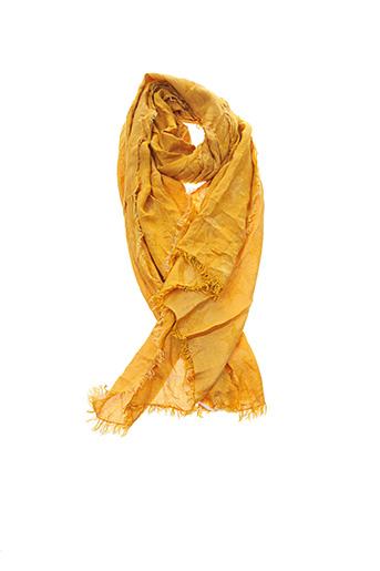 Foulard jaune PAKO LITTO pour femme