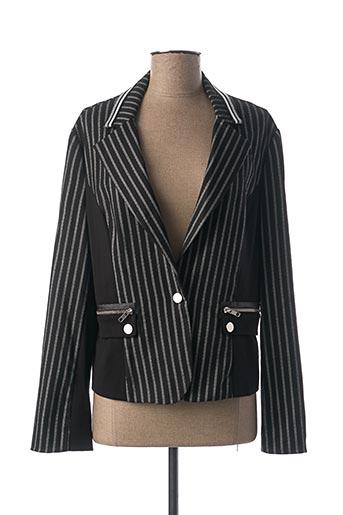 Veste chic / Blazer noir LESLIE pour femme