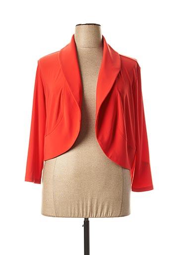 Veste chic / Blazer rouge JOSEPH RIBKOFF pour femme