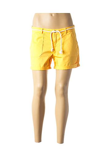 Short jaune KANOPE pour femme