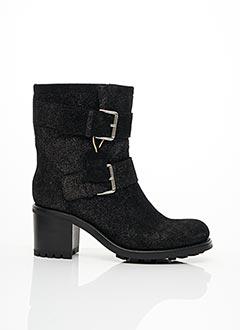 Bottines/Boots noir FREE LANCE pour femme