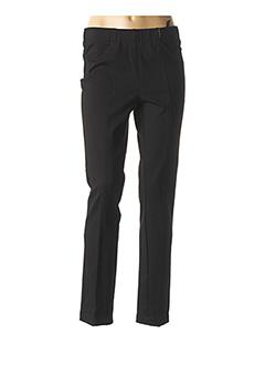 Pantalon casual noir GELCO pour femme